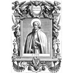"""Sant 'Yves (Ivo) de Hélory Kermartin """"Priester in Britain"""""""