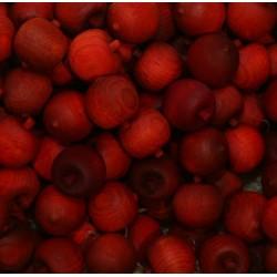 Frutta scolpita in legno profumata albicocca