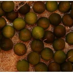 Frutta scolpita in legno profumata cedro