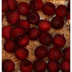 Frutta scolpita in legno profumata ciliegia