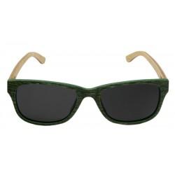 Occhiali da sole in legno dal design esclusivo ed ottime lenti