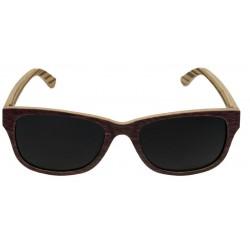 Sonnenbrille Holz