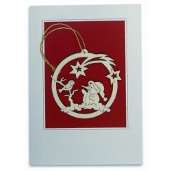 Wood Ornament Card Gifts
