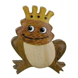 Frog, Dolfi wood carved magnets