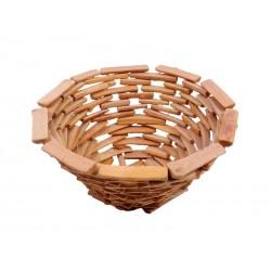 Cesto portafrutta in legno