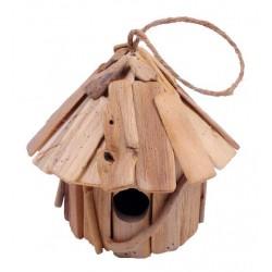 Casetta rustica per uccellini di forma tonda - Dolfi idee regalo festa della mamma, Ortisei