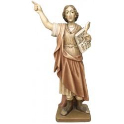 San Pancrazio finemente scolpito in legno