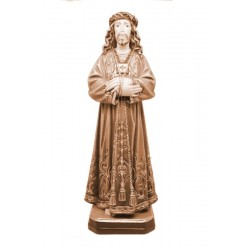 Jesus De Medinaceli of Madrid wood carved in Italy - Dolfi Collection Religious Statues - oil colors