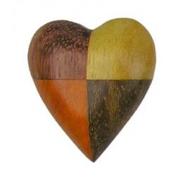 Magnet - 4 colour Heart