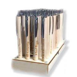 Holzkugelschreiber - Holzstift - Packung mit 12 Teilen