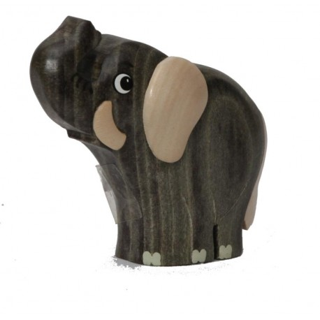 The miniature wooden Elephant - Dolfi wood Gifts for him - Made in Italy