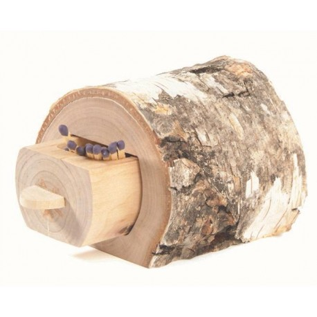 Log for matches 3,2 inches