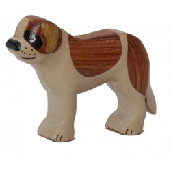The little Dolfi wood dog carving