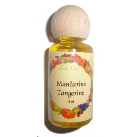 Tangerine perfume bottle