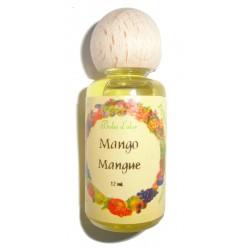 Gocce di essenza per frutta in legno mango