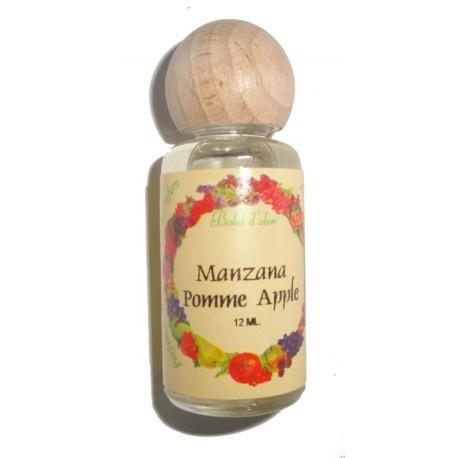 Apple perfume bottle