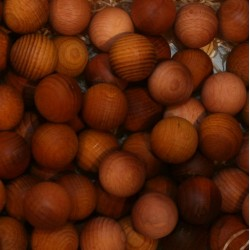 Frutta scolpita in legno profumata gelsomino