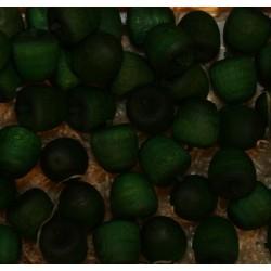 Frutta scolpita in legno profumata mela verde