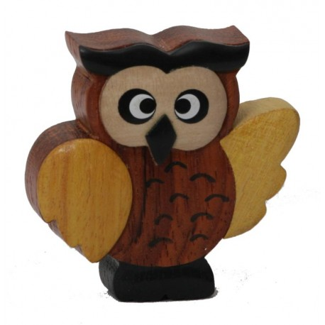 The Miniature wooden Owl