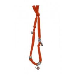 Collana arancio elastica