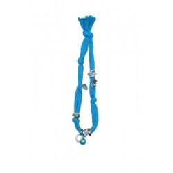 Halskette himmelblau