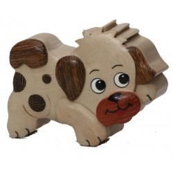 Der kleine Dolfi Holz - Hund