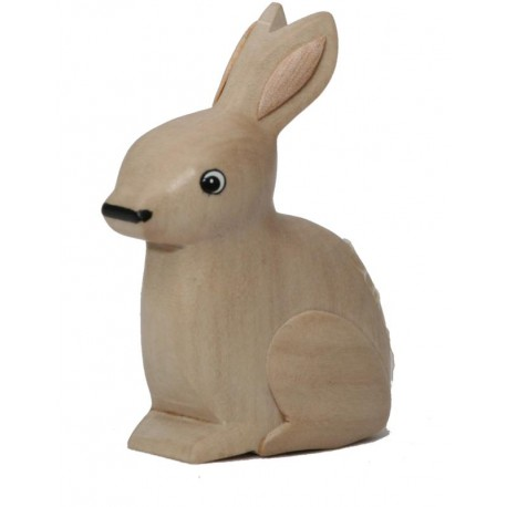 The Miniature wooden Rabbit