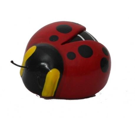 The Miniature wooden Ladybird