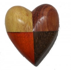 The Miniature wooden Heart