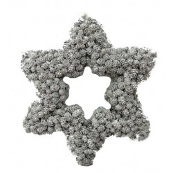 Sternform Kranz 35x31x5,5 cm