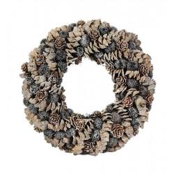 runder Kranz - Dolfi Weidenkranz Dekorieren Frühling, diese Kreation ist in Gröden hergestellt