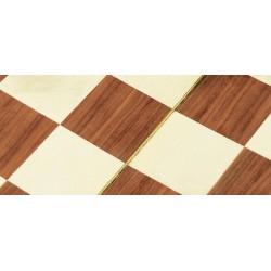 Base per dama scolpita in legno