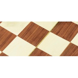Chess Board in wood - size 18 inch - Dolfi Whittled Chess Set - Made in Italy