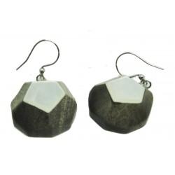 All natural wood earrings