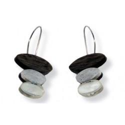 Earrings for wood Natural