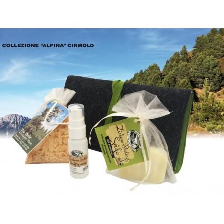 Set collezione alpina cirmolo