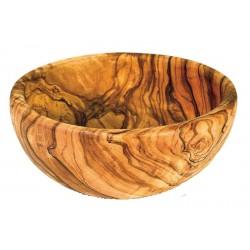Große Holz Schüssel in Olivenholz