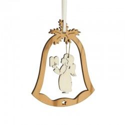 Decorazione campana ulivo 6x7,5cm