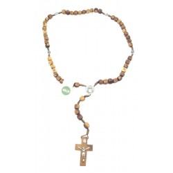 Rosario in legno d'ulivo - Dolfi rosario decina legno, Alpe di Siusi