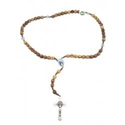 Rosario in legno d'ulivo - Dolfi rosario legno ulivo, Val Gardena