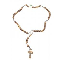 Legno d'ulivo su rosario