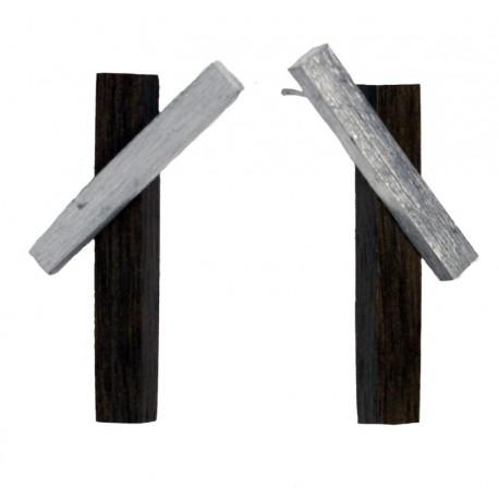 Orecchini di legno Naturale