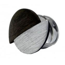 Ring aus Holz aus Walnuss