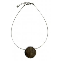 Wooden Necklace in Italian Style