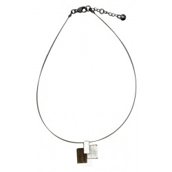 Wooden Necklace made in Italy
