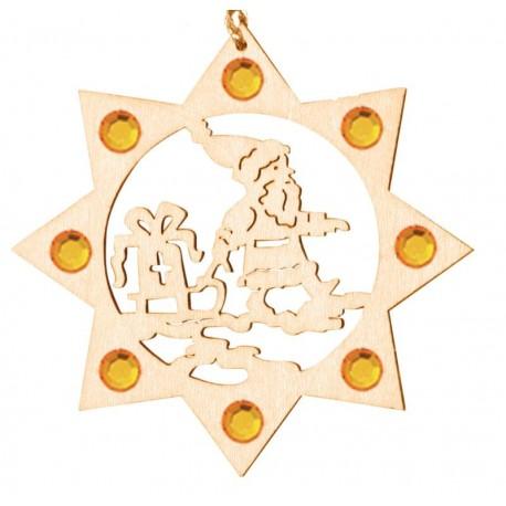 The Santa with Swarovski crystall