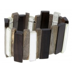 Wooden Bracelet Natural-Chic