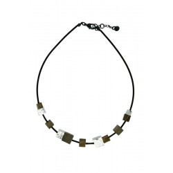 Wood Necklace Natural