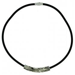 Wood Grey color Necklace