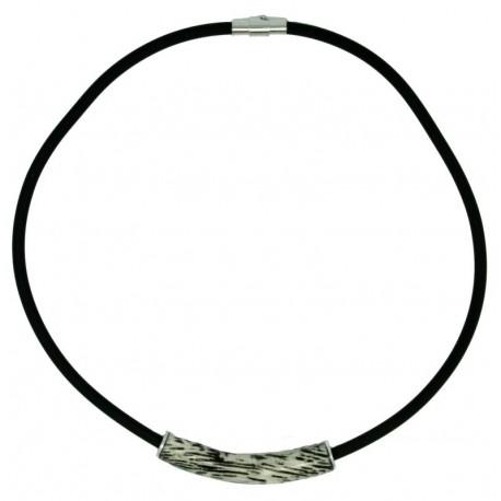 Halskette Natur Holz lang 50 cm